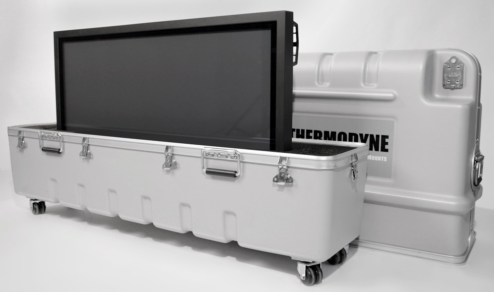 LCD Display Shipping Case