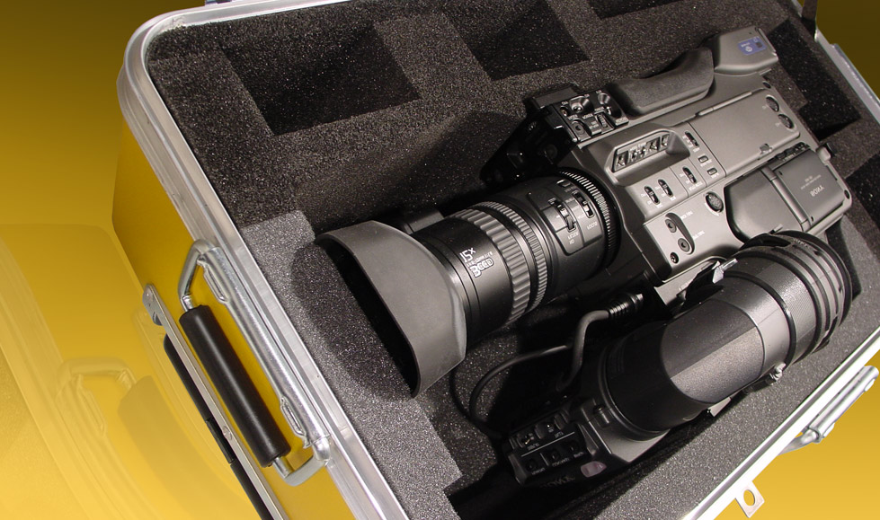 Custom Video Camera Cases