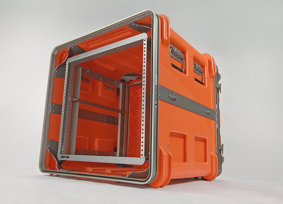 Custom rack mount shipping case