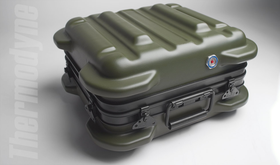 Rugged Military Reusable Transit Cases