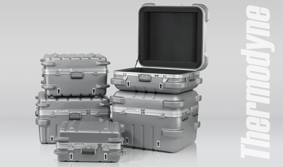 Thermodyne Tradeshow Shipping Cases